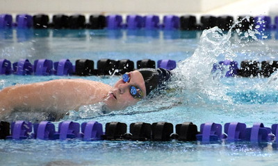 HS Sports - Girls Swim Downriver League Meet at Woodhaven