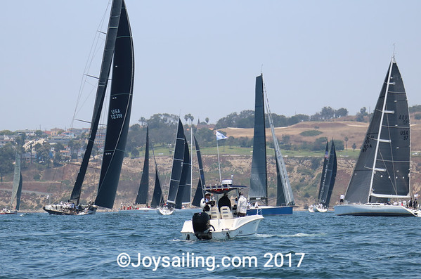Starts for #3 and #4  Transpac 2017