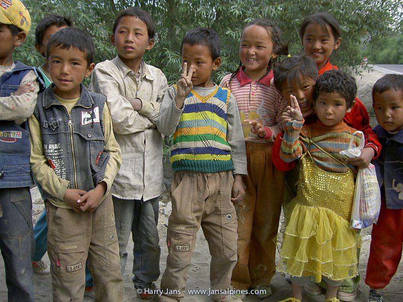 Tibetan childern