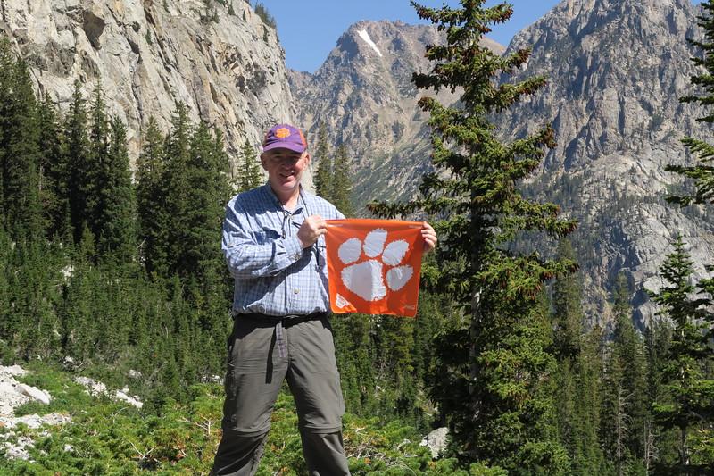 James (me) representing!  Go Tigers!  Wooohooo!