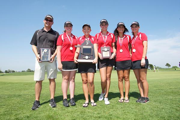 Poteau 4A State Golf 2012