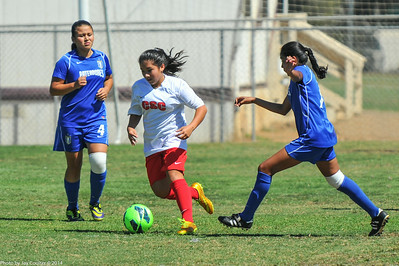 CSC Girls (U-13) at Nott's Forest Cup 8-30-2014
