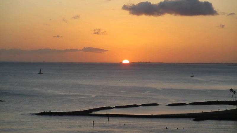 Sunrises and Sunsets Hawaii March 2012 Mini Movie
