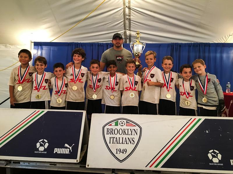Brooklyn Italian Tournament Champs!