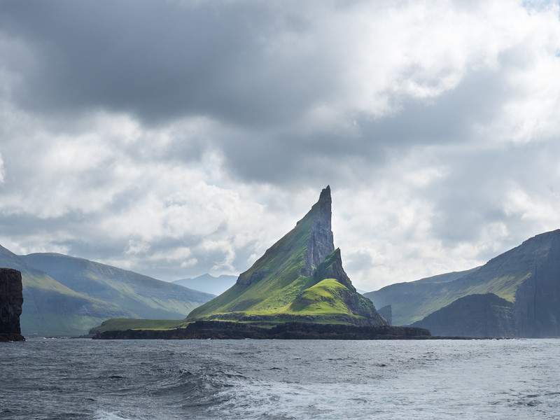 Faroe Islands rock formations