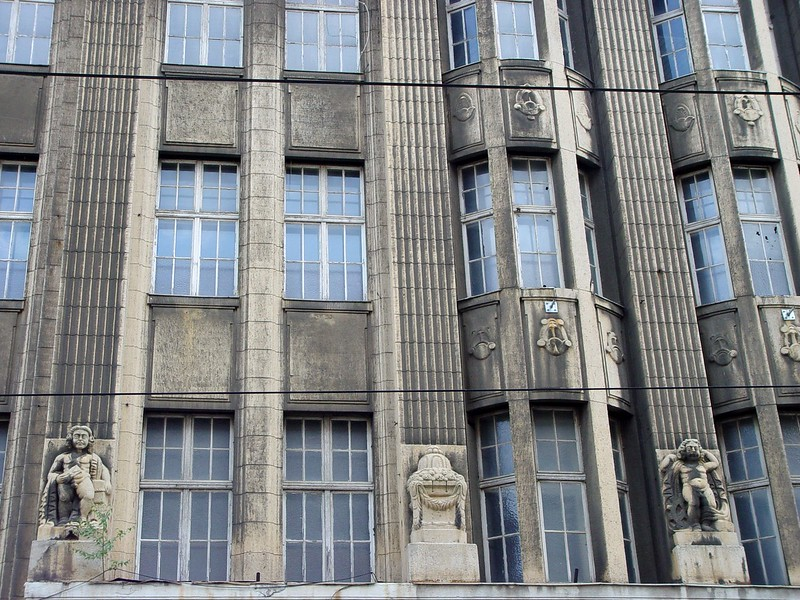Building in Leipzig