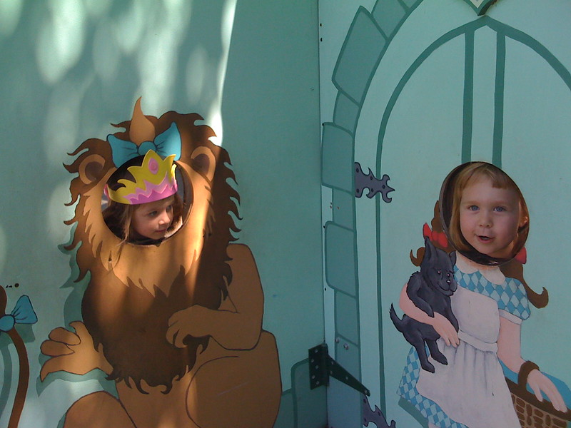Lion and Dorothy