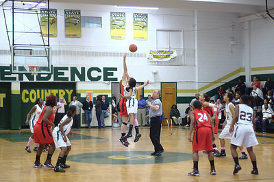 2010/01/15 BHS Girls Basketball - Butler @ Independence