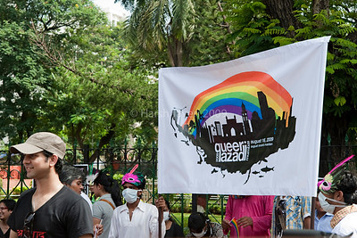 Queer Azadi (indepedence) march