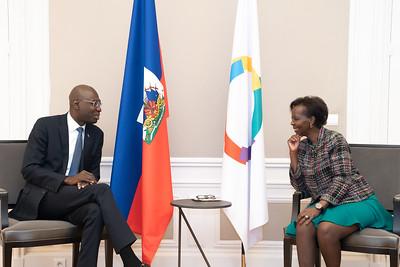 SEM Jean Josué PIERRE - Ambassadeur d'Haïti - Paris