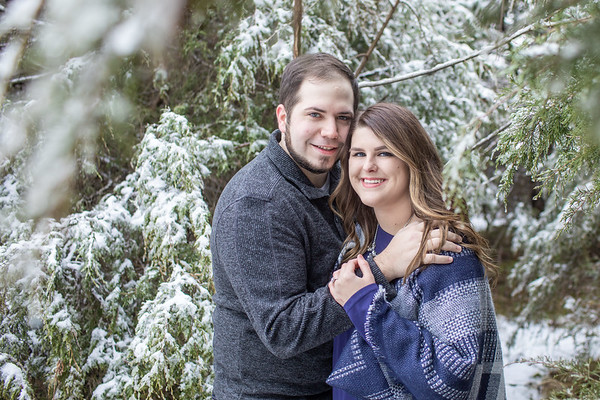 Winter Engagement: Shelbi + Dakota