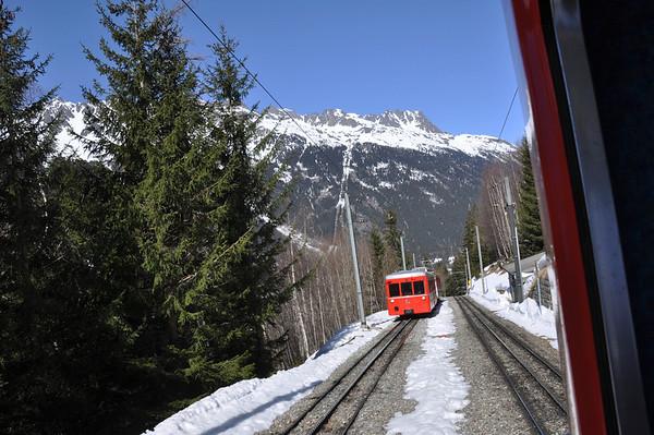 Chamonix and Mont Blanc area