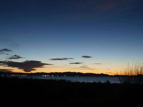 Sunrise over Gisborne, NZ