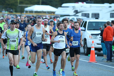 2016 Cherokee Harvest Half Marathon and 5K, October 1
