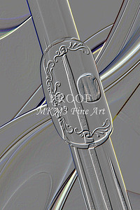 Embossed Flute Art Photographs for Metal Wall Art
