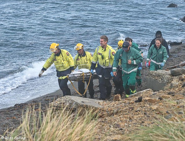 Point Dorset Cliff Rescue 2020