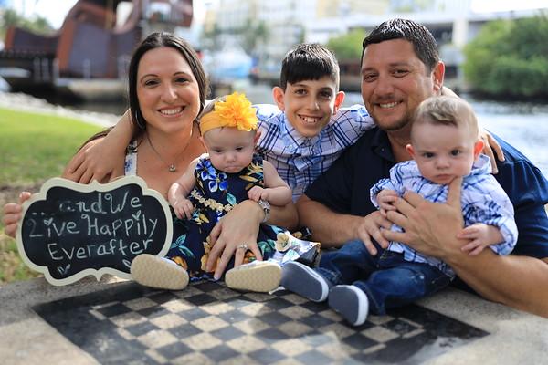 Kristina, Jon & family