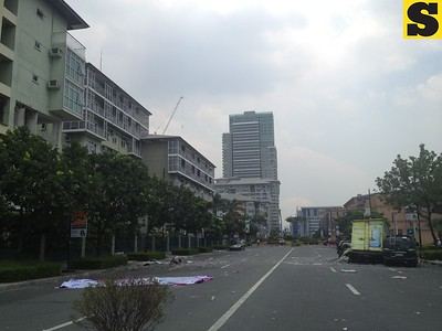 Serendra blast in Taguig City