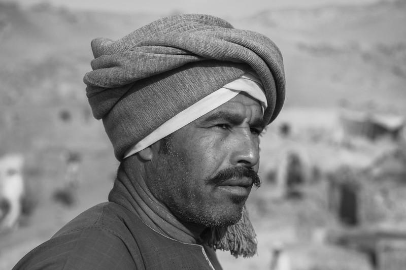 El rais Ali. Capataz de la excavación de Djehuty. Luxor. Egipto