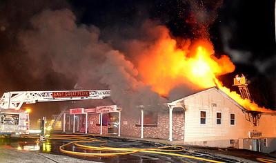 3 Alarm Building Fire - East Great Plain, Norwich, CT - 12/31/16