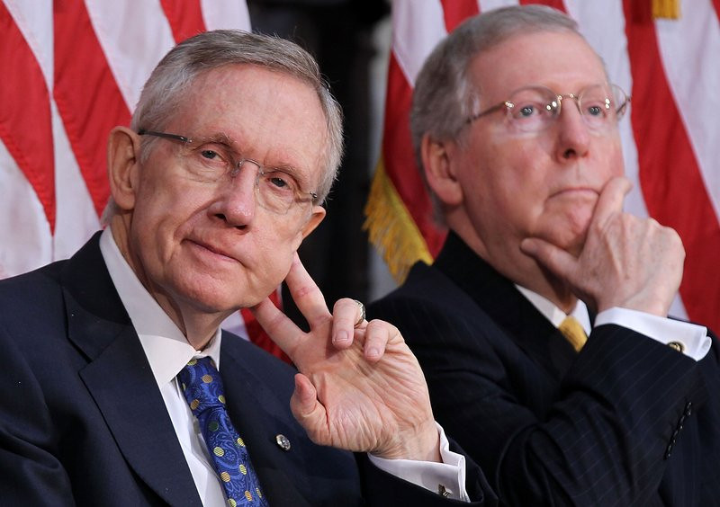 ". <p>2. HARRY REID & MITCH McCONNELL <p>If you�re counting on these two clowns to solve the shutdown mess, we�ve got some bad news for you ... (unranked) <p><b><a href=\'http://www.politico.com/story/2013/10/senate-democrats-susan-collins-proposal-government-shutdown-debt-ceiling-98221.html\' target=""_blank\""> HUH?</a></b> <p>    (Alex Wong/Getty Images)"