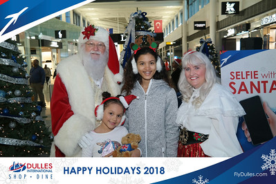 Dulles Shopping & Dining: Happy Holidays 2018 - Day 2