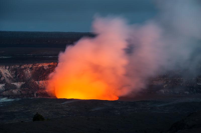 Sunset at Kilauea Summit