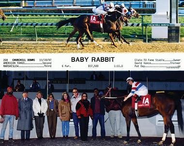 BABY RABBIT - 11/18/1997