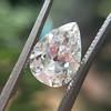 2.01ct Antique Pear Shape Diamond GIA G VS1 31