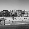 Santa Monica Panorama _ bw