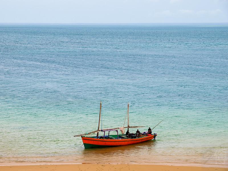 Boat at Bazaruto - Mozambique