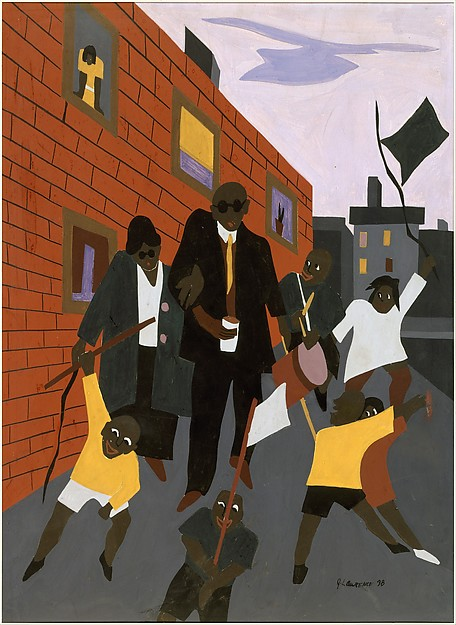 "Jacob Lawrence, ""Beggar 1"" 1938"
