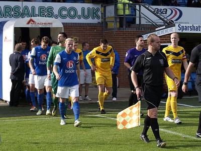 Eastleigh (2) v Oxford City (3) FA Cup 3rd QR 12.10.2013