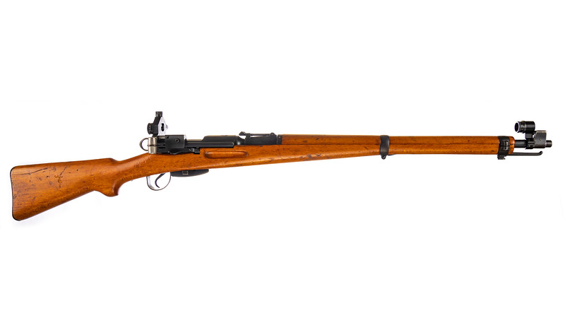 Swiss K31 with Diopter Sight