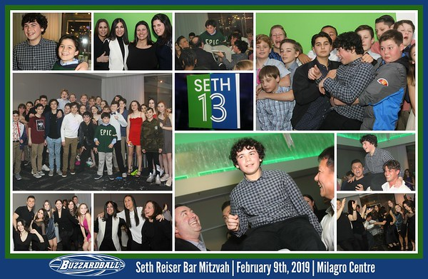 Seth Reiser Bar Mitzvah | FEBRUARY 9TH, 2019