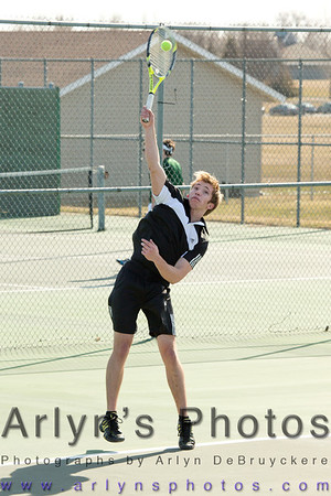 Hutch Boys Tennis 3-10-14