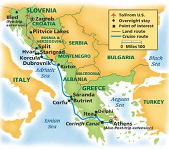 Gems of Dalmatian Coast & Greece