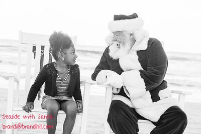 Seven meets Santa