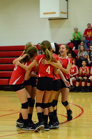Volleyball vs St. Anthony