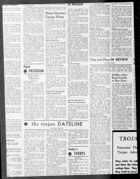 Daily Trojan, Vol. 33, No. 22, October 11, 1941