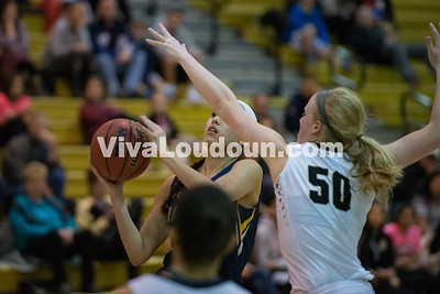 Girls Basketball: Loudoun County vs. Freedom 1.23.17 (by Chas Sumser)