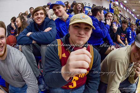 Student Section @ Lafayette Game 12 Jan 2018