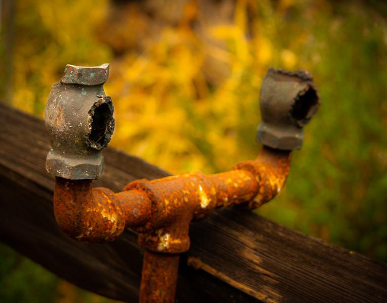 Pipe, Almaden Quicksilver County Park, California, 2007