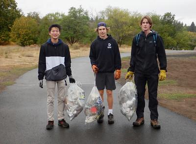Outdoor Spokane River Clean Up 9-18-21