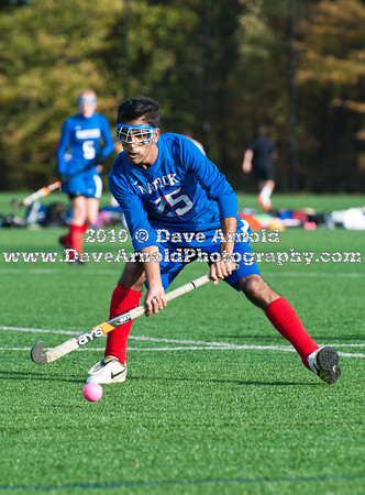 10/18/2010 - Girls Varsity Field Hockey - Natick vs Needham