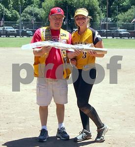 2015  Lions Club's all-star Softball game 6/6/2015