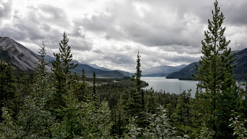 North End of Muncho Lake