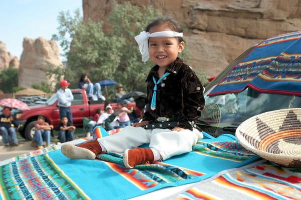 Navajo Parade, AZ USA