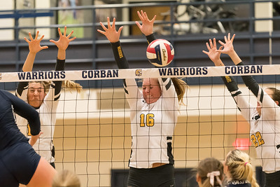 Corban Volleyball vs. Eastern Oregon - Oct. 27, 2017