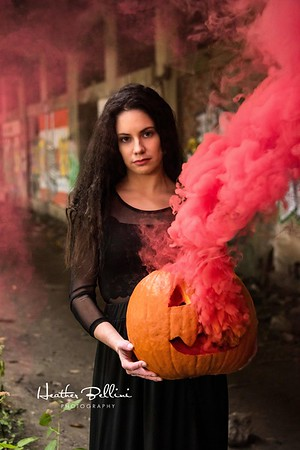 Model - Theresa Gullo _ Smoke Bombs